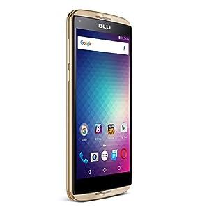 BLU Energy Diamond 3G SIM-Free Smartphone (4,000 mAh Super Battery) - Gold