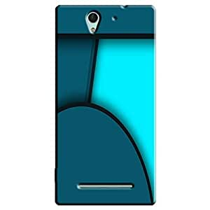 DIGITAL PATTERN 13 BACK COVER FOR SONY XPERIA C3