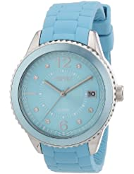 Esprit Damen-Armbanduhr marin 68 Analog Silikon A.ES105342003