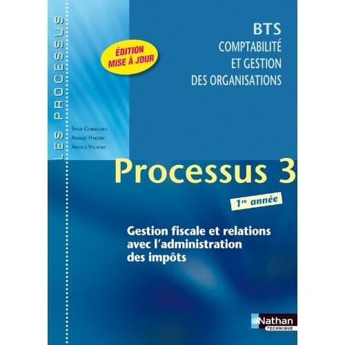 Processus 3 - BTS CGO 1re année