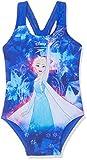 Speedo Mädchen Disney Frozen Badeanzug, ELSA Spell Beautiful Blue/Tur, 6 Jahre