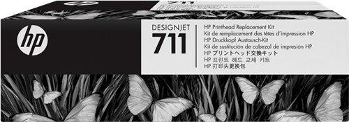 Preisvergleich Produktbild HP-Druckkopf schwarz / cyan / magenta / gelb C1Q10 A 711