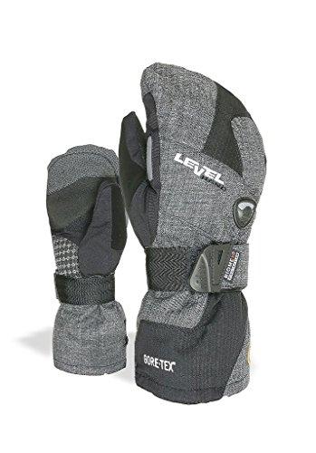 Pipe Snowboard Handschuhe (Level Herren 's Half Pipe Gore-tex Handschuhe, Herren, Half Pipe Gore-Tex, anthrazit)