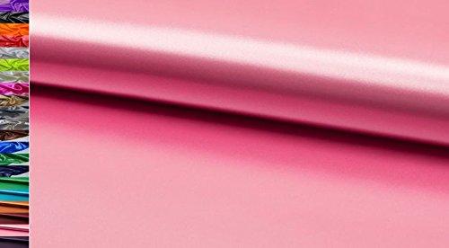 Tessuto book bellissimo tessuto poliestere tessuto di raso slim stoffe al metro, d343 rosa