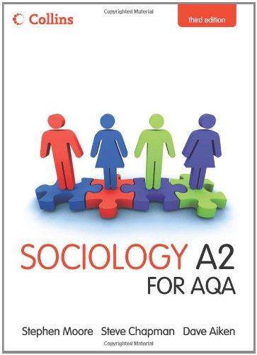 Collins A Level Sociology – Sociology A2 for AQA