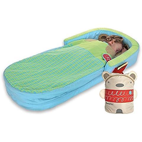 ReadyBed 401SNG - Cama hinchable portátil , color verde