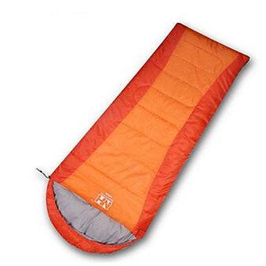 BTJC-016-Schlafsack-Rechteckiger-Schlafsack-Einzelbett150-x-200-cm-10-Hohlbaumwolle-650g-200X75-Camping-Reisen-DrinnenWasserdicht-Regendicht-blue