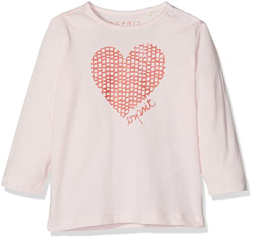 ESPRIT KIDS Baby-Mädchen T-Shirt Tee for Girl, Beige (Pearl Rose 309), 68