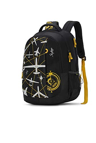Best skybags backpack in India 2020 Skybags Figo 03 32 Ltrs Black Casual Backpack (FIGO 03) Image 2