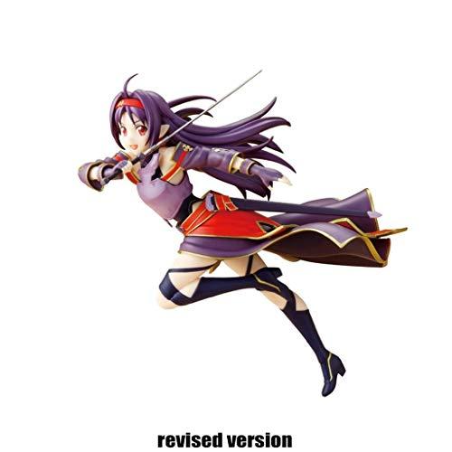 Sword Art Online Action-Figuren Spielzeug Konno Yuuki PVC Figure SAO Sammlung Modell Spielzeug Anime