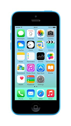 Apple iPhone 5c Blue 8GB (UK Version) SIM-Free Smartphone image