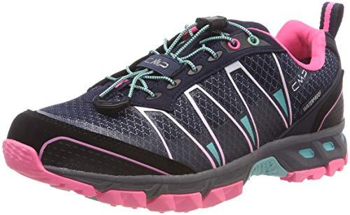 CMP Altak, Scarpe da Trail Running Donna, Blu (Navy-Pink Fluo-A.Marina 98bd), 38 EU