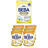 Nestlé BEBA Comfort Spezialnahrung, von Geburt an, 600 g Faltschachtel,  3er Pack (3 x 600 g) + SUPREME Pre Babymilch, von Geburt an, leicht verträgliche Säuglingsnahrung