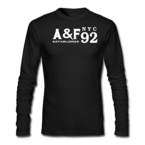 Abercrombies Fitchs Boys Girls Printed Long Sleeve T shirts