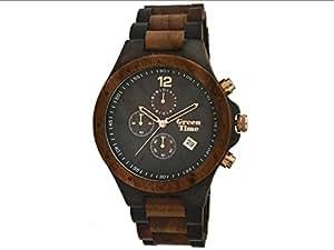 GREEN TIME Orologio Cronografo in Legno Sandalo ZW013D