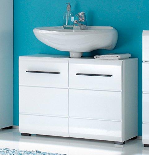 Waschbeckenunterschrank Aurino weiß