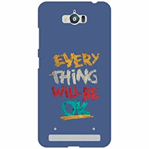 Asus Zenfone Max ZC550KL Back Cover - Silicon All Is Good Designer Cases