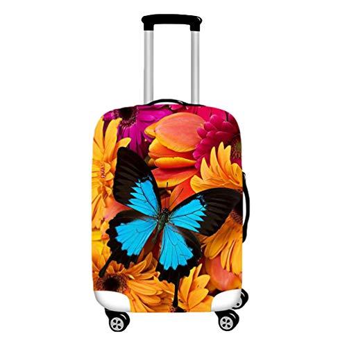 YiiJee Kofferschutz Luggage Cover Kofferschutzhülle Mit Trendigen Drucken Abdeckung 18-28 Zoll Als Bild2 S
