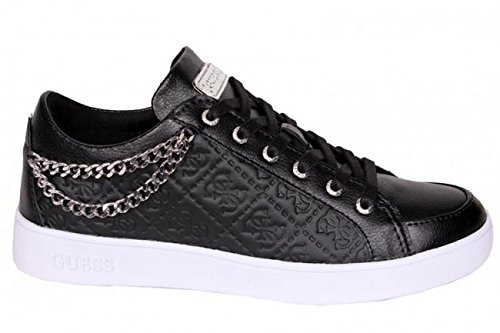 guess-sneaker-women-glinna-catena-leather-black-38