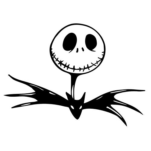 Nightmare Before Christmas Car Sticker Bat Vinyl Car Styling Cool Car Body Decals Home Bedroom Living Room Art Poster 57x79cm