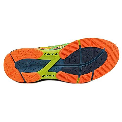 Asics Gel-Noosa Tri 11 Synthétique Chaussure de Course Flash Yellow-Green Gecko-Ocean Depth