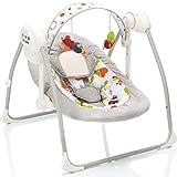 Vollautomatische Babyschaukel/Babywippe Flippi mit Spielbogen