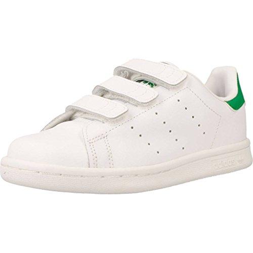Basket, couleur Blanc , marque ADIDAS ORIGINALS, modèle Basket ADIDAS ORIGINALS STAN SMITH CF C Blanc