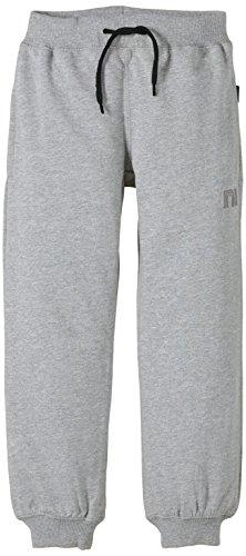 NAME IT Sweat Kids Pant Unbrushed R Noos, Pantaloni Bambini e Ragazzi, Grigio (Grey Mel W Black), 92 cm (Taglia Produttore: 92)