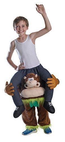 Für Tier-maskottchen-kostüm Kinder (Jungen Schweinchen Rücken Affen-Kostüm Kinder Kostüm für Maskottchen Kostüm)