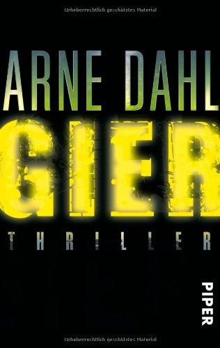 Buchseite und Rezensionen zu 'Gier: Thriller (Opcop-Gruppe, Band 1)' von Arne Dahl