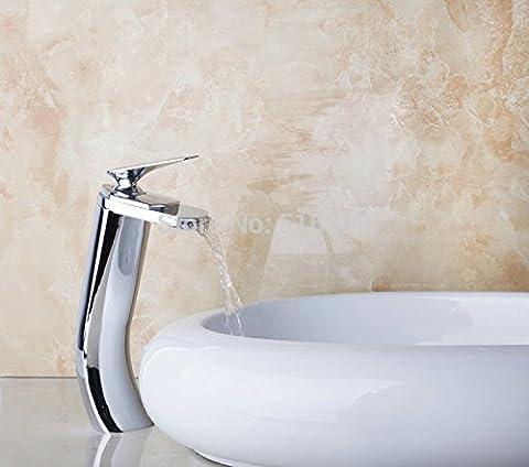 Maifeini Die Hohen Auswurfkrümmer Wasserfall Uni Bau & Immobilien Bad Eitelkeit Pool Mischbatterien Chrom Wasserhahn Waschtisch Armatur