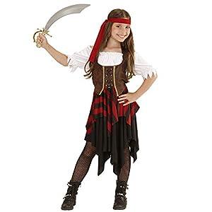WIDMANN Disfraz 05597?Disfraz para niños Pirata, Vestido, corsé y Cinta, tamaño 140