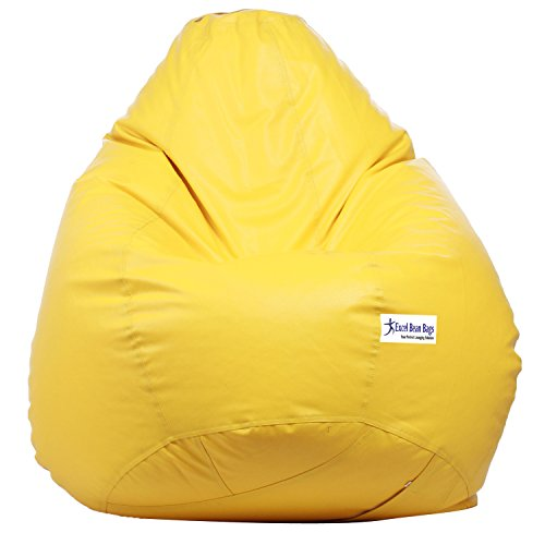 Excel Bean Bag Cover XXXL Yellow  available at amazon for Rs.499