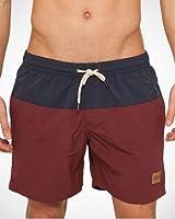 Urban Classics Herren Badeshorts Block Swim Shorts - Badehose für Männer in den Größen S bis 5XL