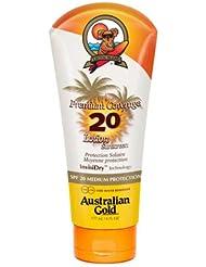 Australian Gold Premium Coverage Lotion sans Agent Bronzant SPF 20 177 ml