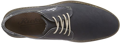 Rieker14515 Lace-Up-Men - Scarpe stringate Uomo Blu (Blau (ozean/denim / 15))