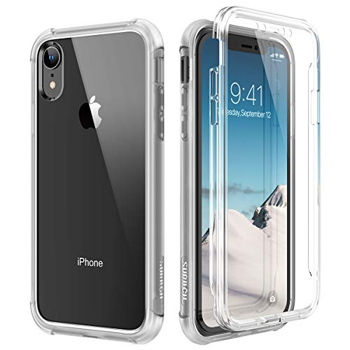 SURITCH Funda iPhone XR 360 Grados Transparente Protector