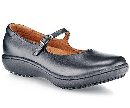 Shoes for Crews 3002-38/5/7.5 MARY JANE II Lederschuhe für Damen, Größe 38 EU, Schwarz
