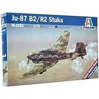 Italeri 1292S - Maqueta de avión Ju-87 B2 Stuka [importado de Alemania]
