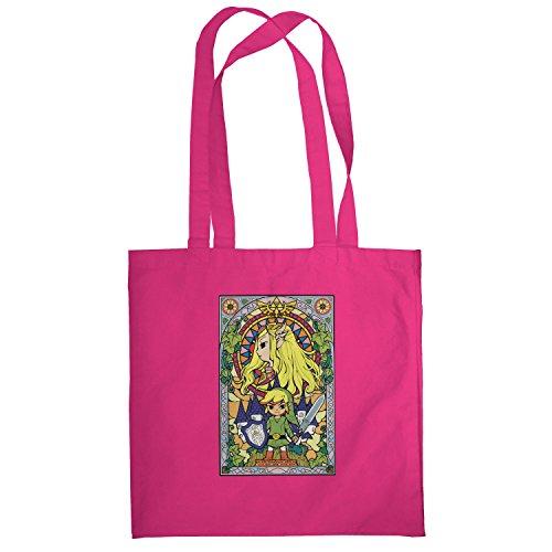 Texlab–Window Link–sacchetto di stoffa Pink