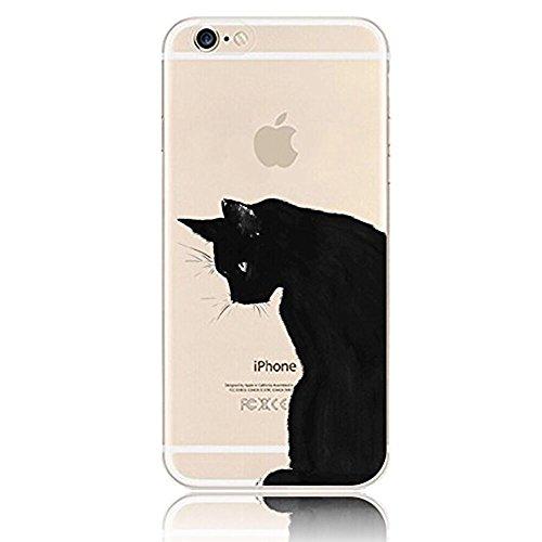 Sunroyal iPhone 5 5G 5S Kreativ Logo Hülle Case Transparent Handyhülle Schutzhülle Durchsichtig TPU Crystal Clear Case Backcover Bumper Slimcase Bildserie Weich Silikon Schutzhülle Anti- Stoß, Mysteri Pattern 13