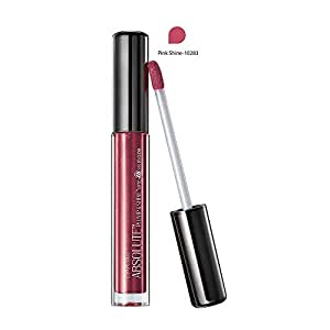 Lakme Absolute Plump and Shine Lip Gloss, Pink Shine, 3ml
