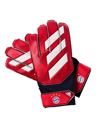 FC Bayern München adidas Pro Torwarthandschuhe / rot mit Latexbeschichtung / 5