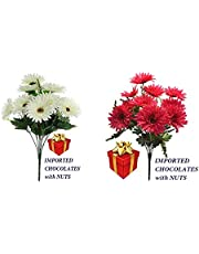 Fourwalls Gerbera Bunch (10 Flowers)