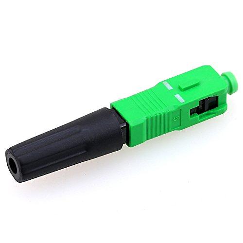 FTTH SC APC Single Mode Optisches Glasfaserkabel, Schnellverbinder für CATV-Netzwerke, 10 Stück Catv-single