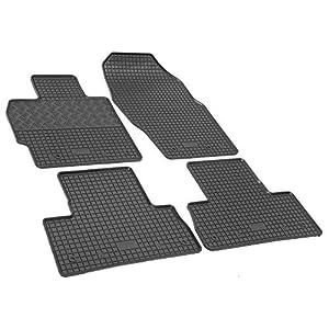 Gummifußmatten RIGUM Gumi-Matten passgenau geeignet für Mazda CX-7 Diesel 2009-2012