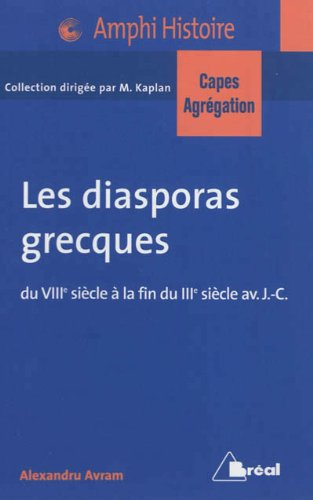 Les diasporas grecques Capes Agreg 2013