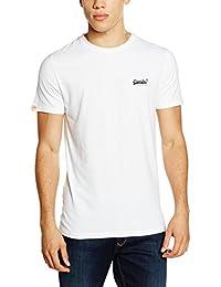 Superdry Herren T-Shirt Orange Label Vintage Emb Tee