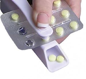 Pill Popper Medicine Dispenser Tablet Opening Aid