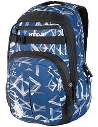 Nitro Snowboards Chase - Mochila, Color Smear Midnight, Talla 51 x 37 x 23